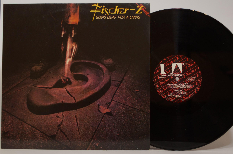 Fischer-Z - Going Deaf For A Living LP ALBUM