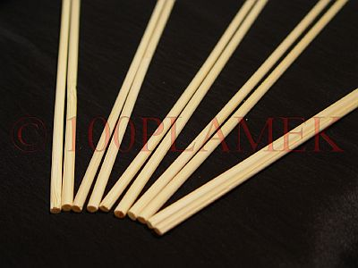 Bambusowe podpórki do roślin 40cm kolor naturalny