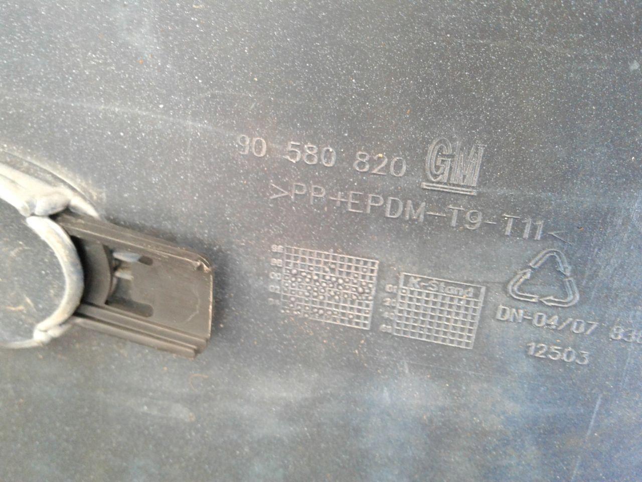 Zderzak tył tylny PDC Z21B Opel Zafira A
