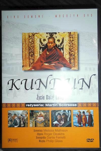 Kundun Życiie Dalej Lamy - DVD