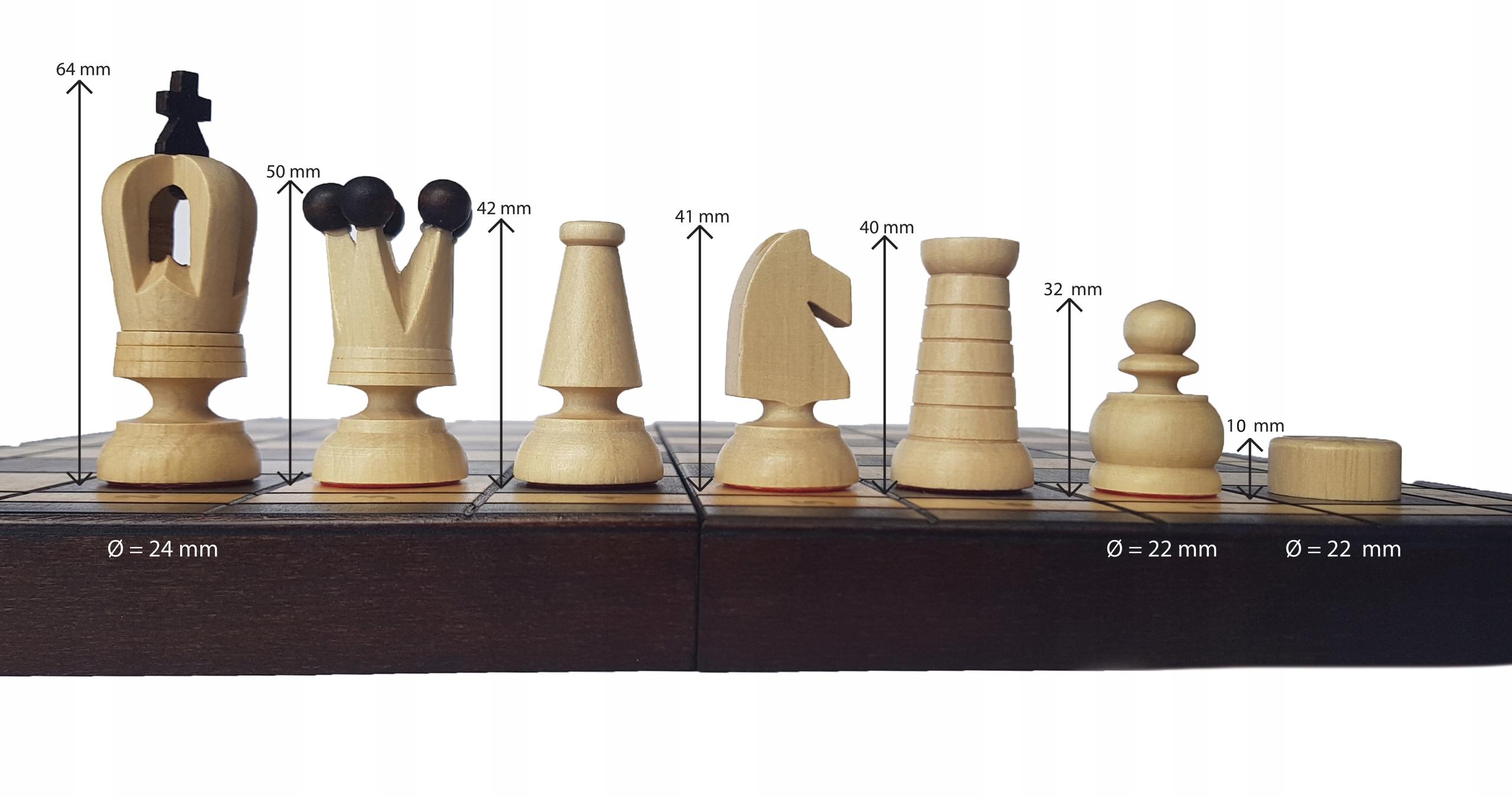 SZACHY + WARCABY drewniane 2w1 jedyna taka gra!!
