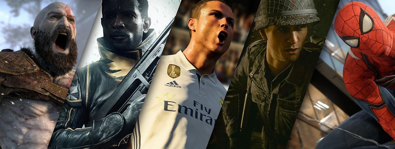 PS4 SLIM 1TB NOWY MODEL+2x PAD+FIFA 18 + GTA V
