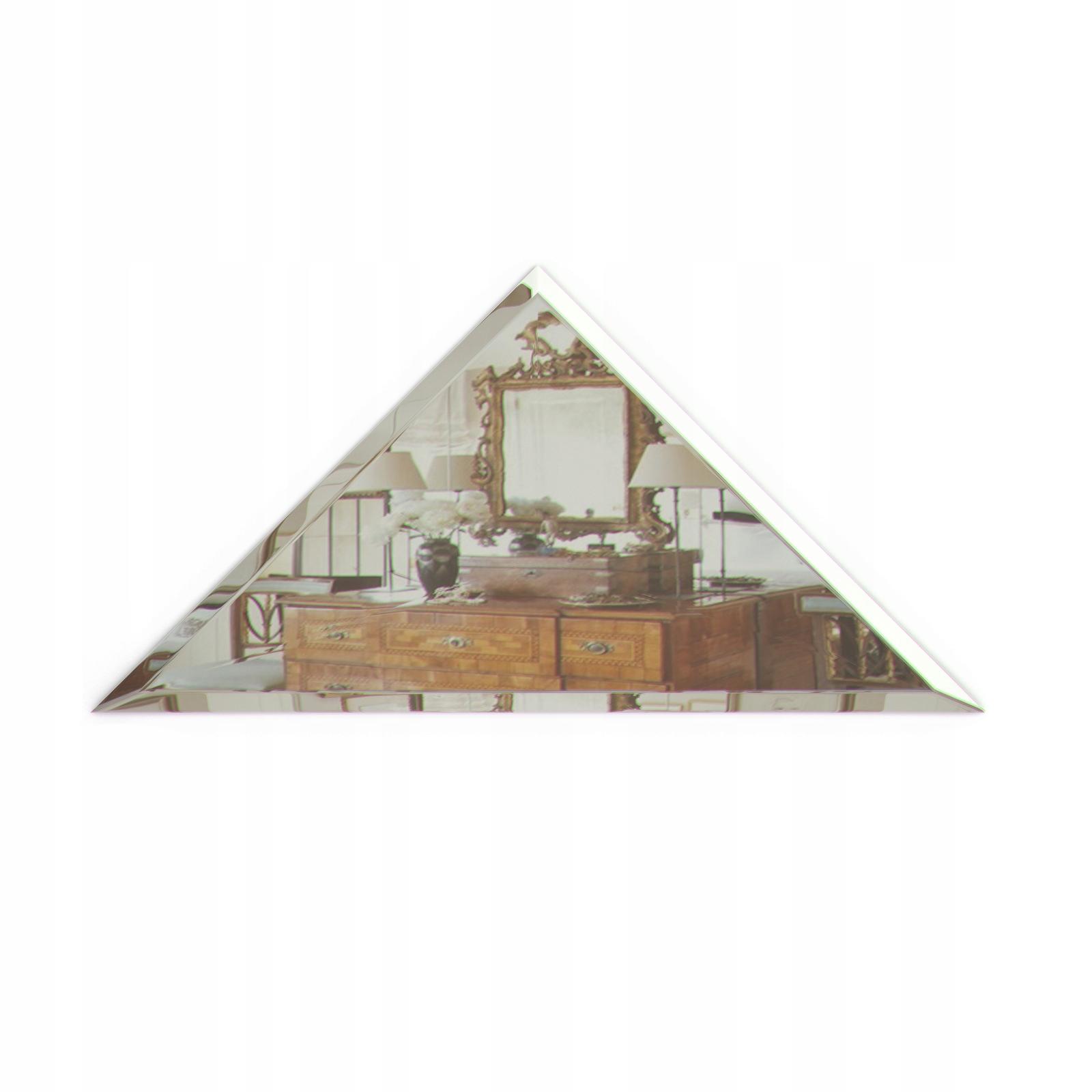 Płytki Kafelki lustrzane trójkąt GLAMOUR