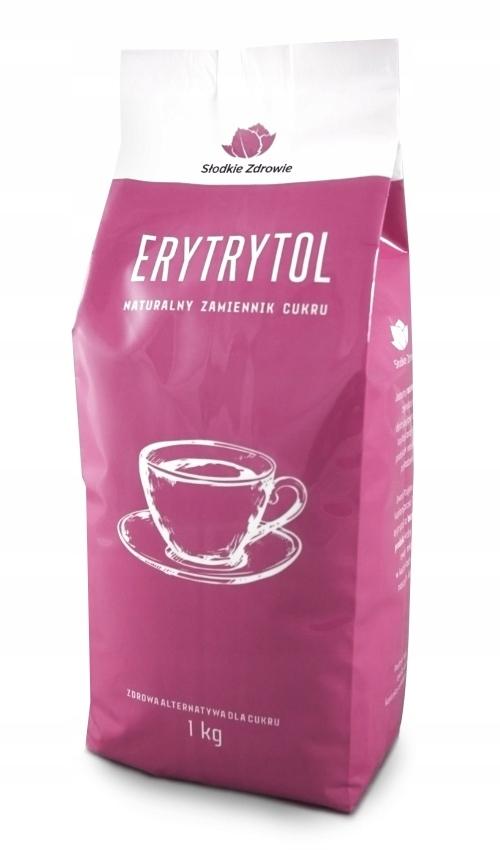 ERYTROL ERYTRYTOL NATURAL SWEETER 0 калорий 1 кг