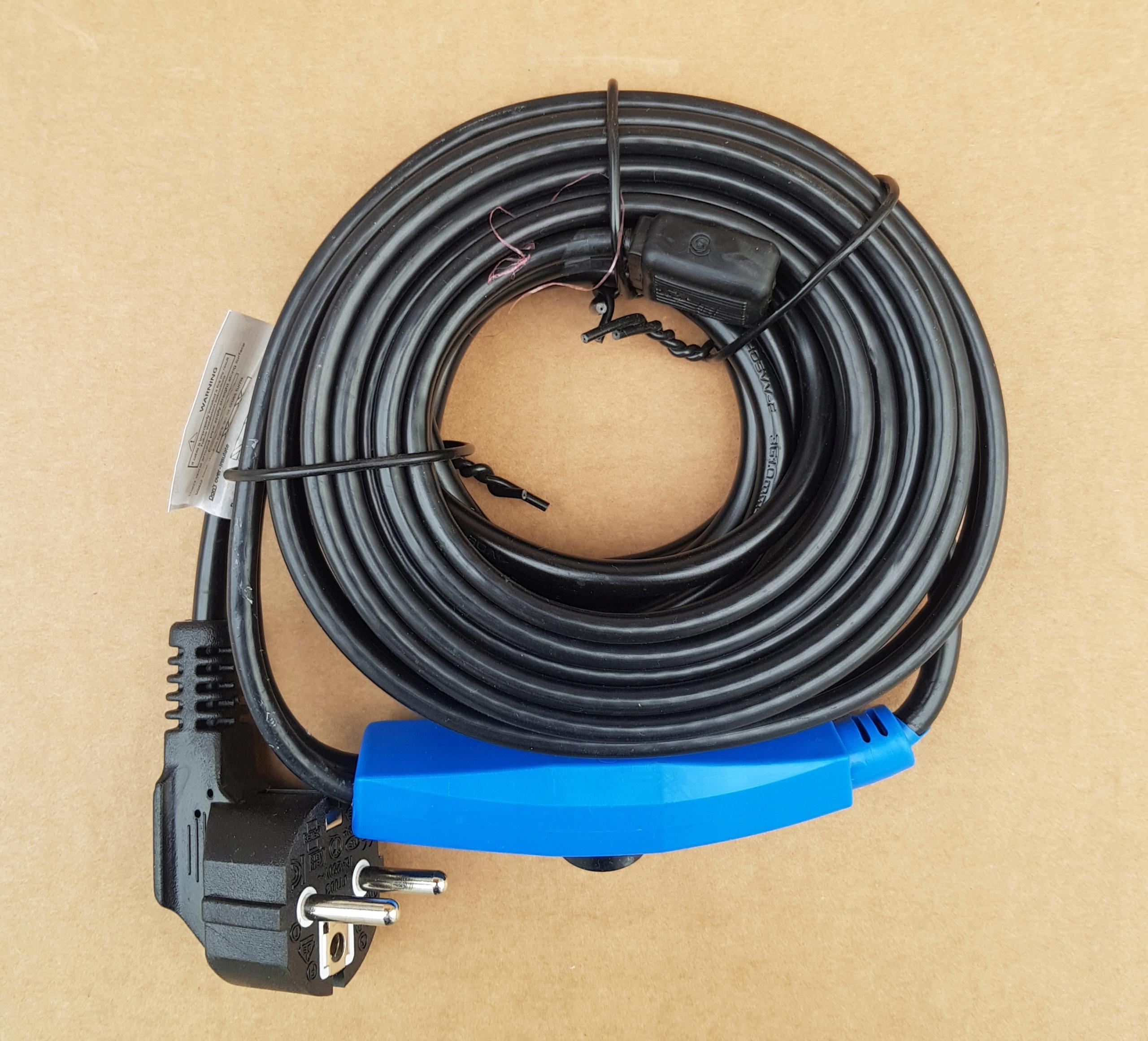 Kabel grzejny 2m 32W Przewód Grzewczy + Taśma 10m