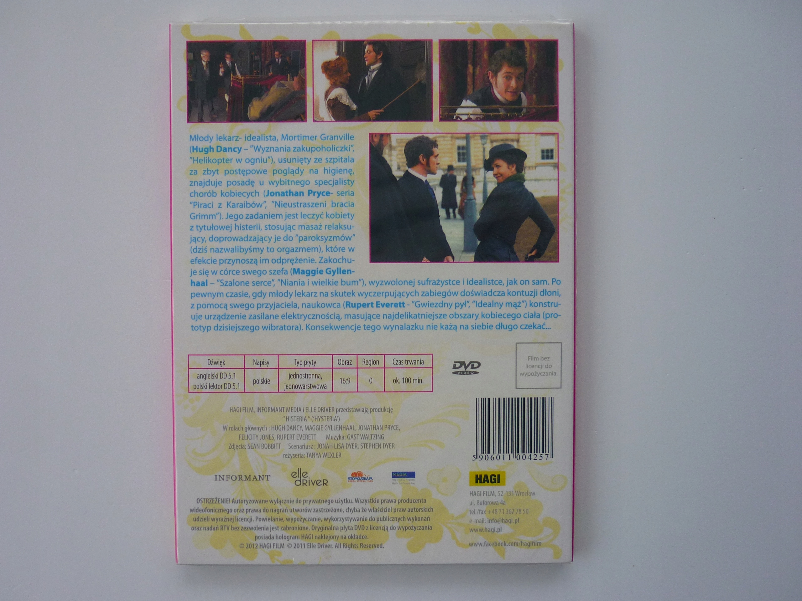 Histeria / DVD / (folia)