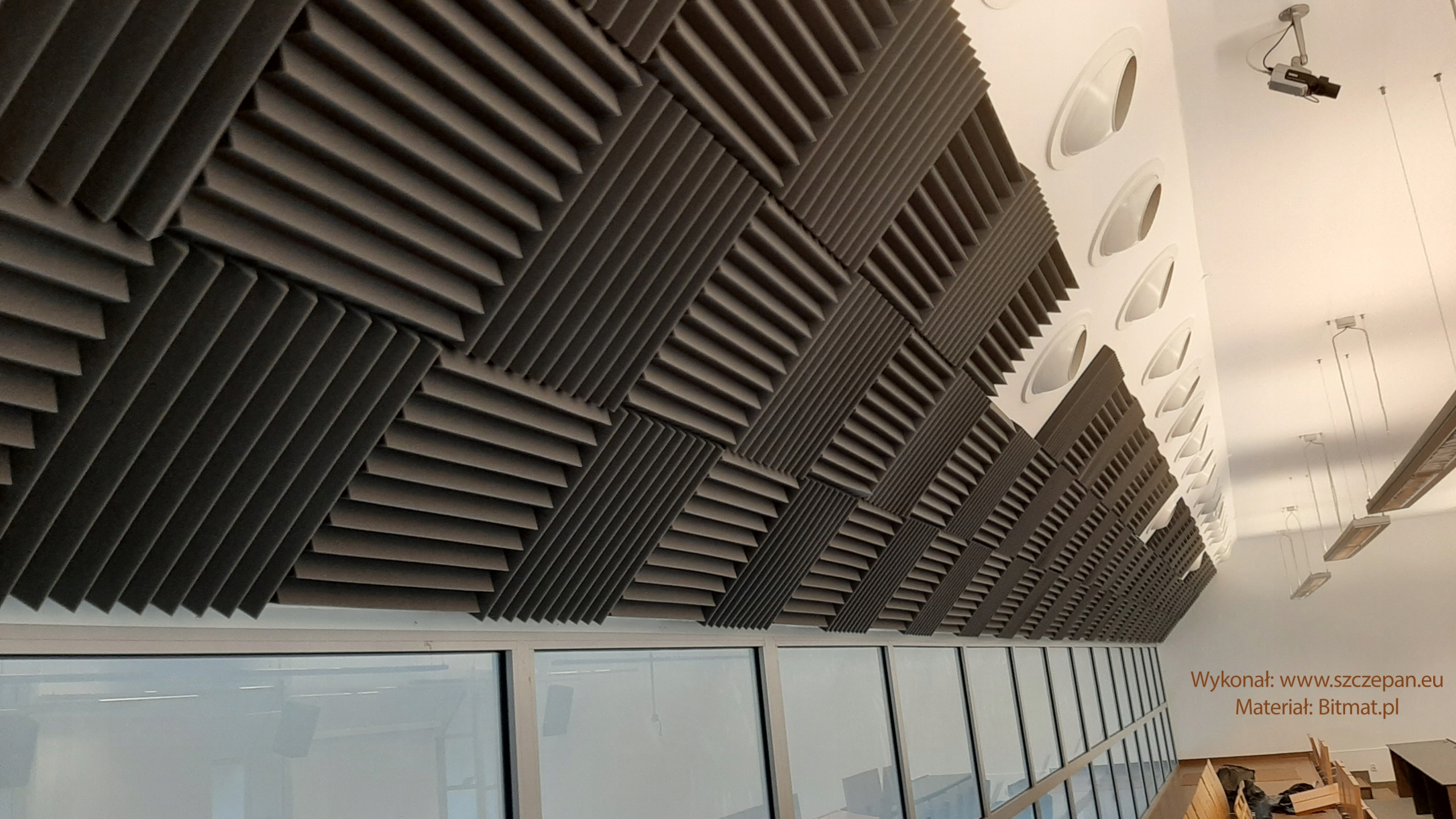 АКУСТИЧЕСКИЕ ПАНЕЛИ ACOUSTIC FOAM MIX 50x50 3m2