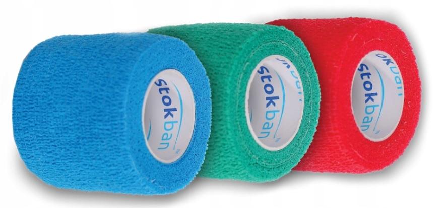 Bandaż elastyczny flex 5cmx4,5m BIAŁY
