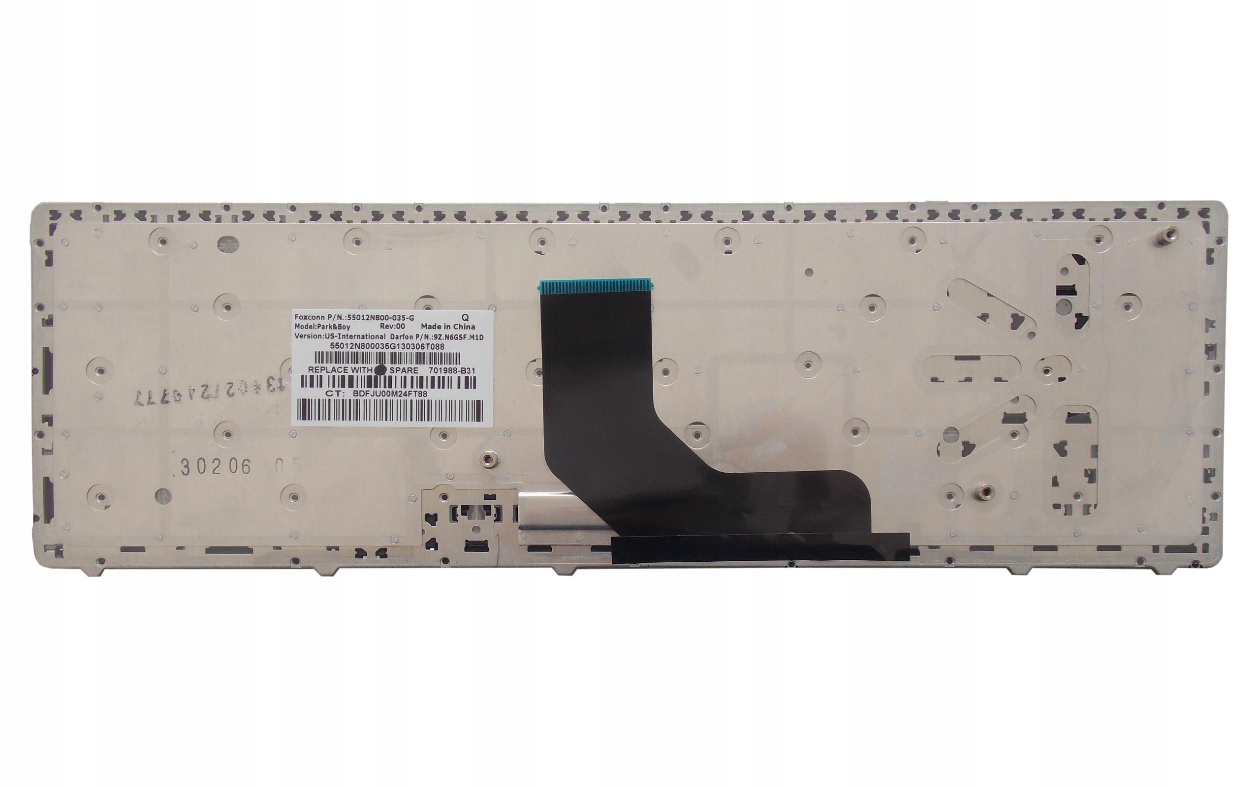 KLAWIATURA HP EliteBook 6560B 6565B 6570B 6575B