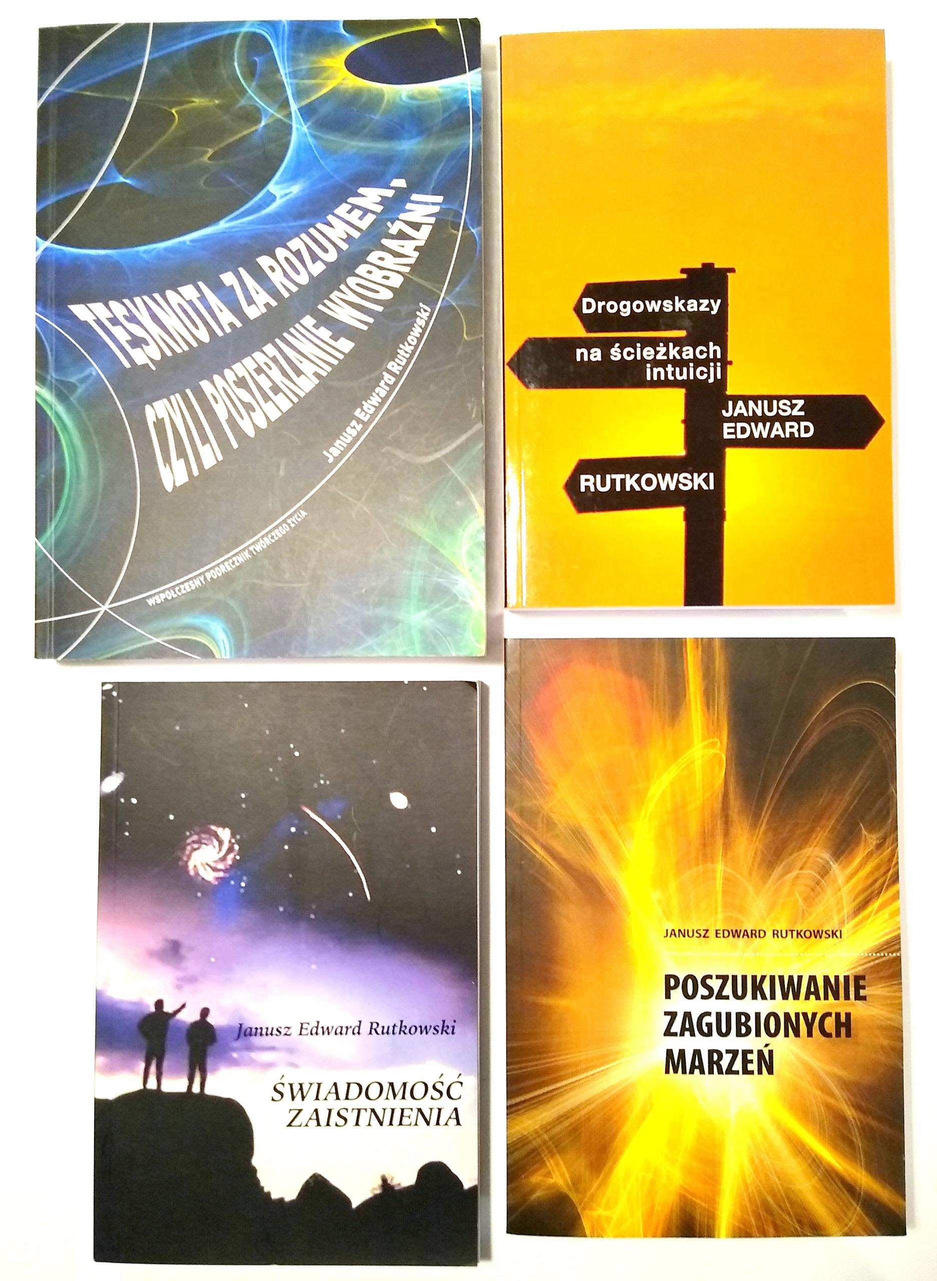 Janusz Edward Rutkowski - Zestaw 4 książek