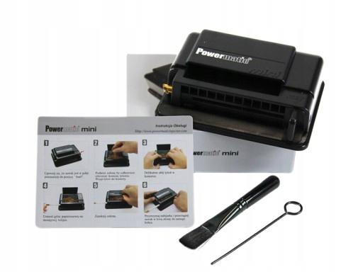 Powermatic mini машинка для сигарет купить в москве дешево сигареты купить в германии