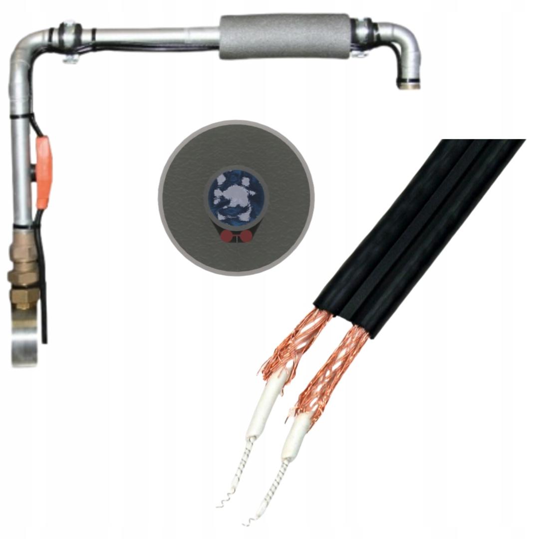 Kabel grzejny 12m 192W Przewód Grzewczy + ZACISKI