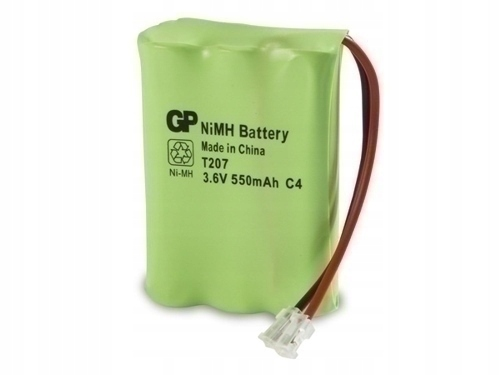 Akumulator GP T207 550mAh B1 3,6V NiMH telefon MOC
