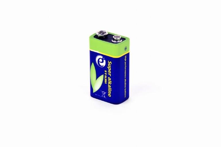 Bateria alkaliczna Gembird 9V EG-BA-6LR61-01