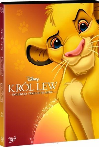 Król Lew - Disney Pakiet 3 bajek [3xDVD Bajka]
