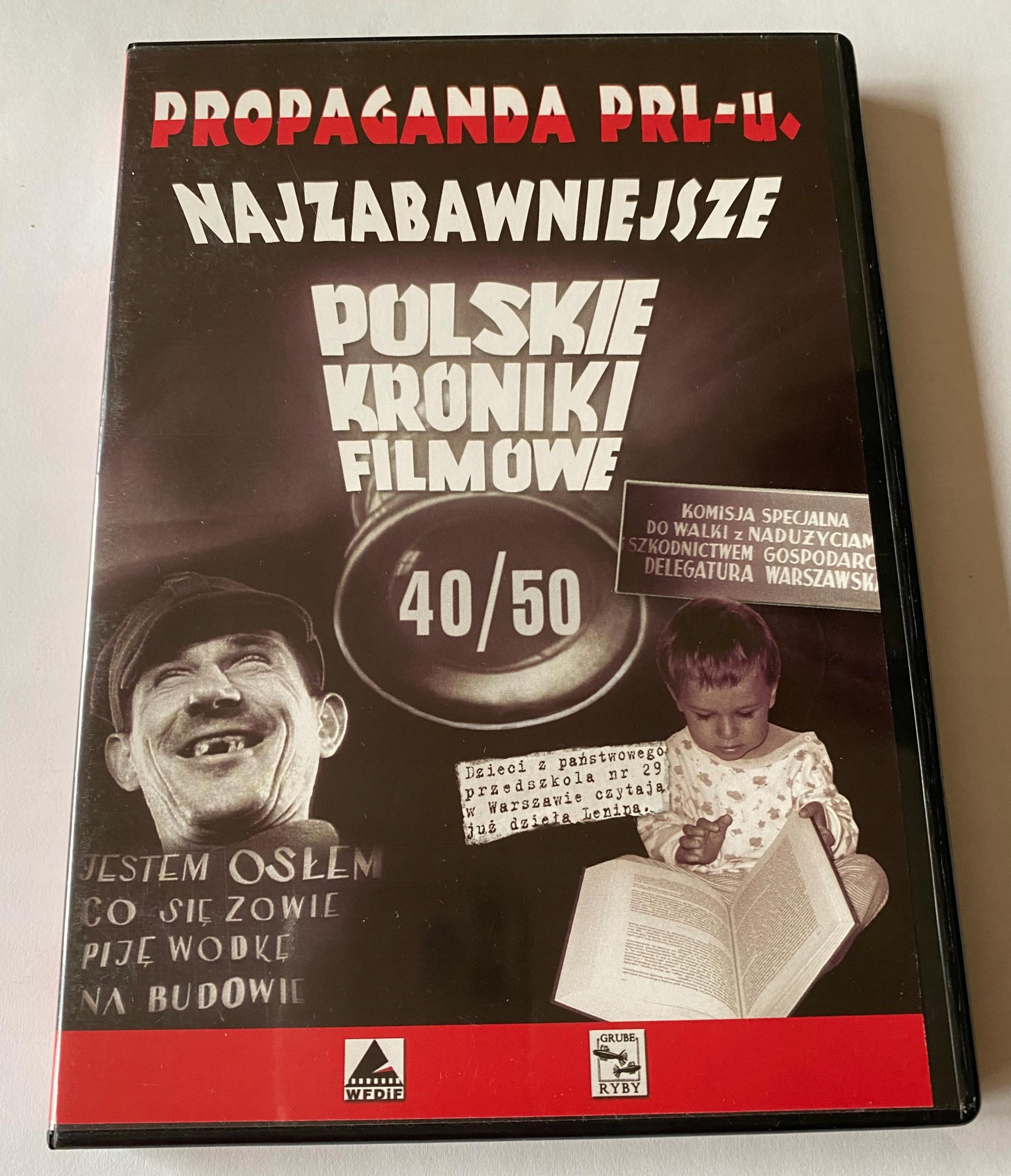 Propaganda PRL-u Najzabawniejsze Polskie Kroniki