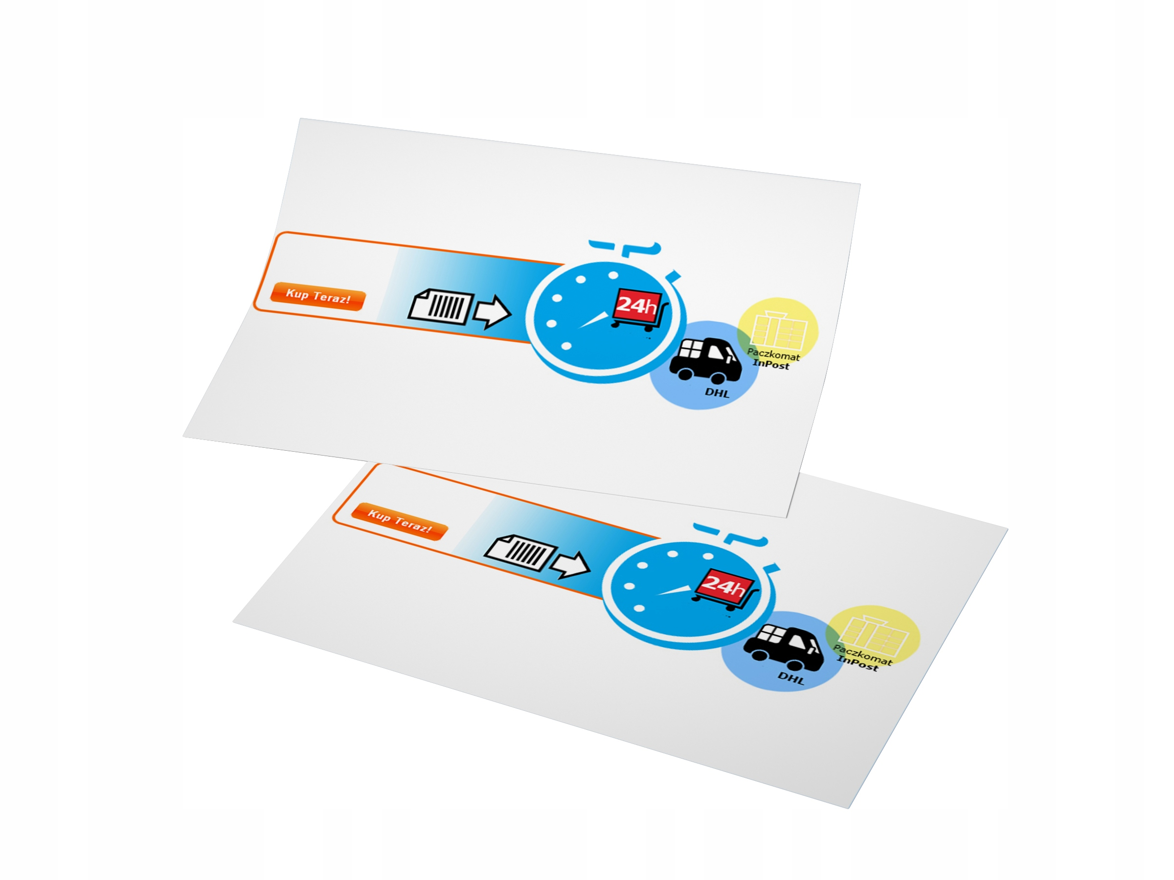 ULOTKI ULOTKA A6 2000 DL 1500 A5 1000 A4 500 170g