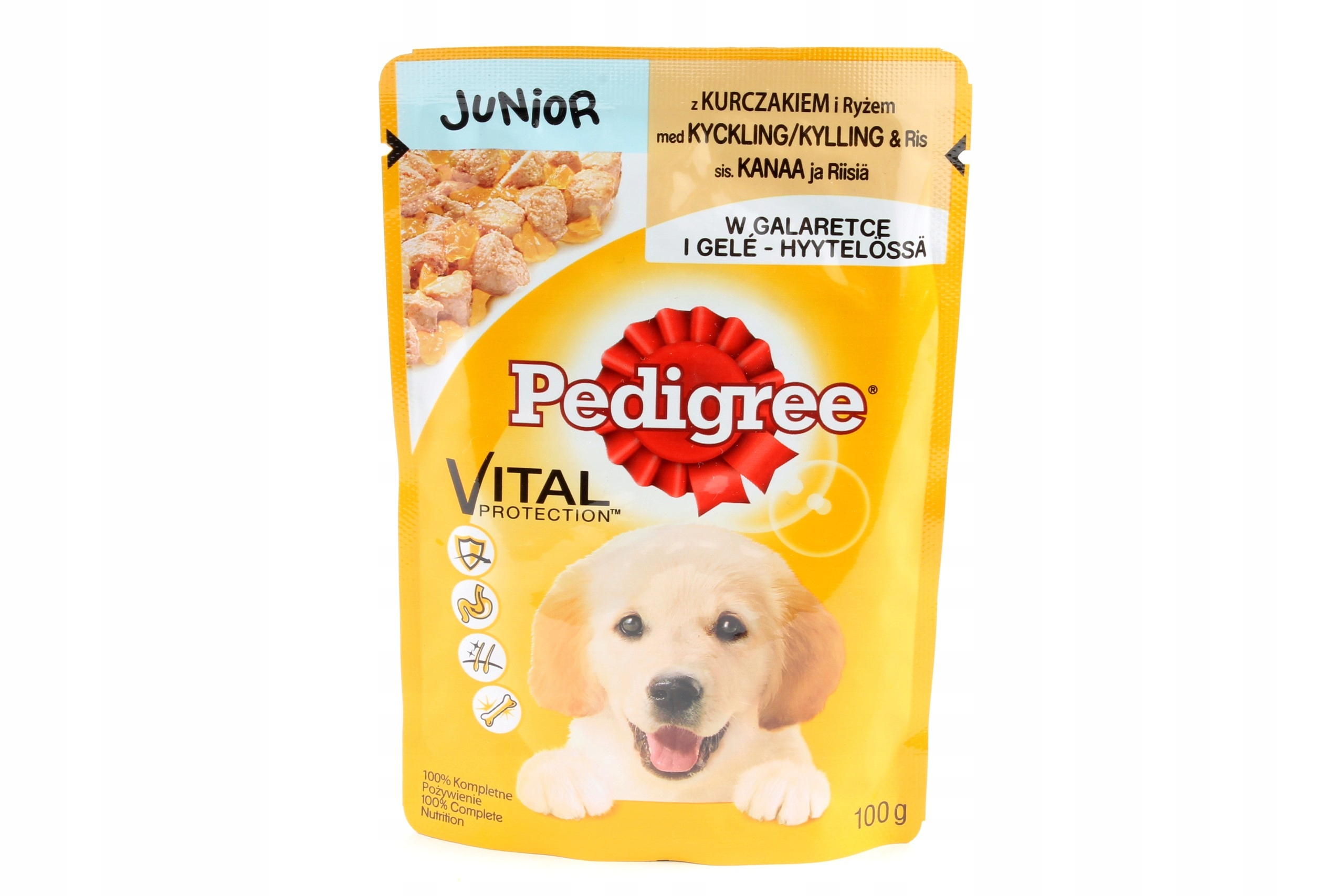 Купить Pedigree Junior пакетик Puppy