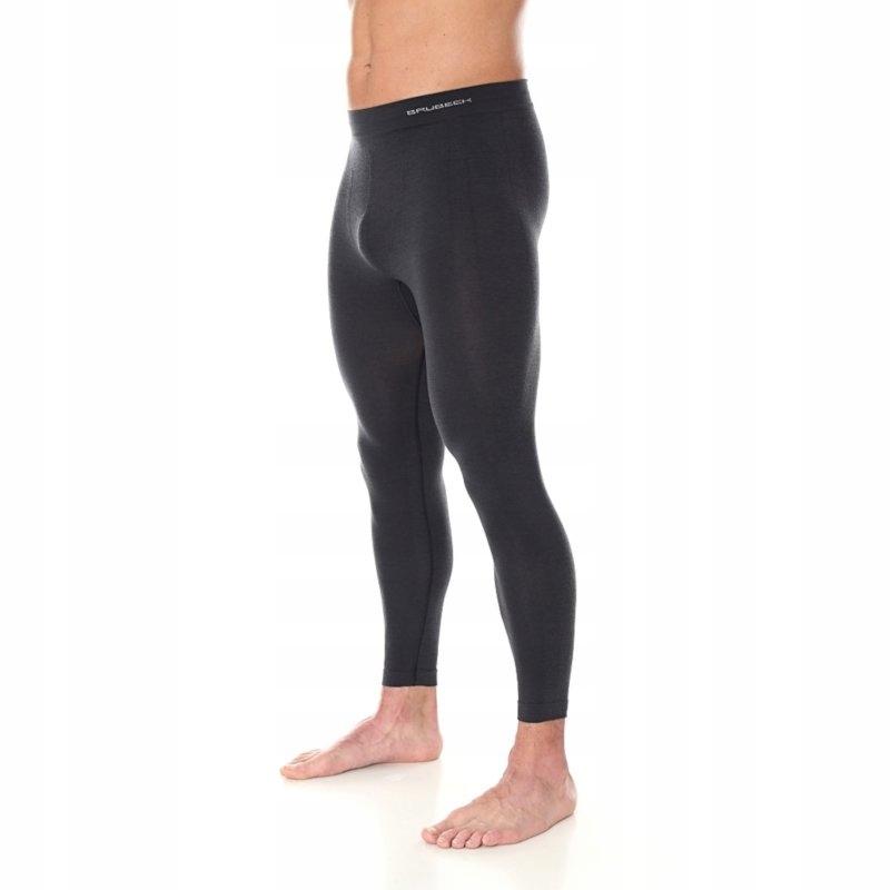 Spodnie termoaktywne męskie legginsy Brubeck