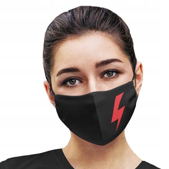 Maseczka STRAJK KOBIET PIEKŁO KOBIET maska protest