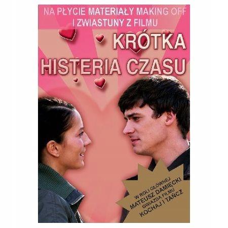 KRÓTKA HISTERIA CZASU DVD FOREMNIAK DAMIECKI ZYCH