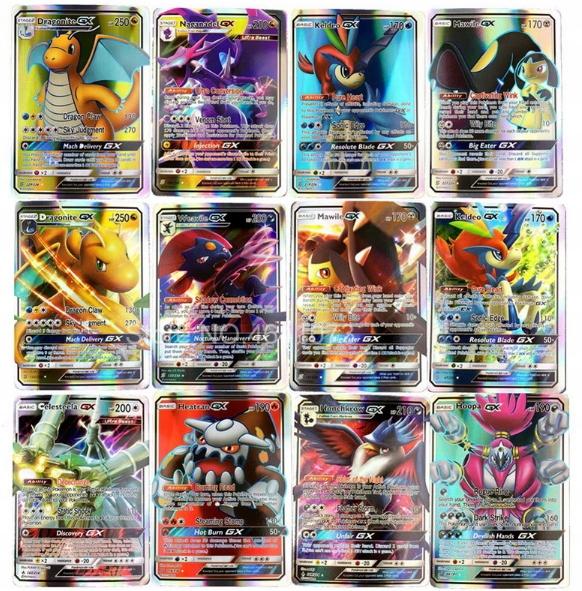 Karty pokemon 60 sztuk GX