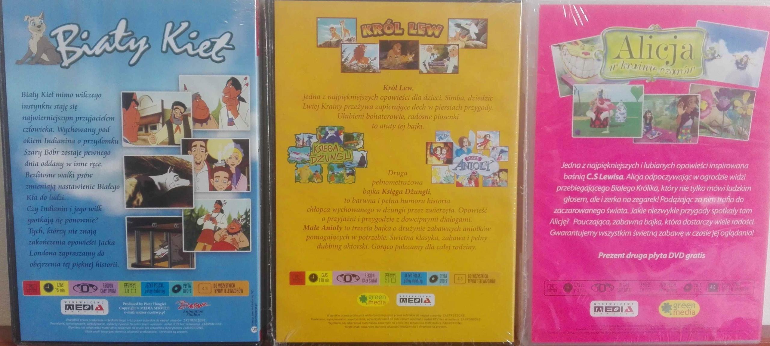 BAJKA DVD ZESTAW 24 BAJKI polska wersja językowa !