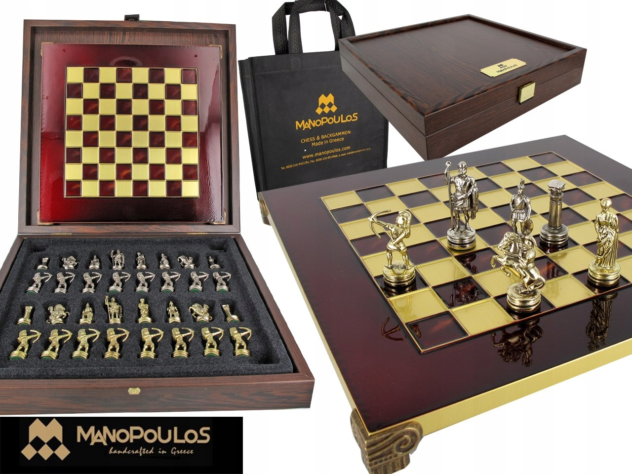 Szachy - Greek Archers Chess set