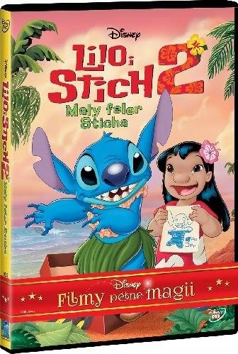 LILO i STICH 2 Mały Feler Sticha DISNEY Bajka DVD