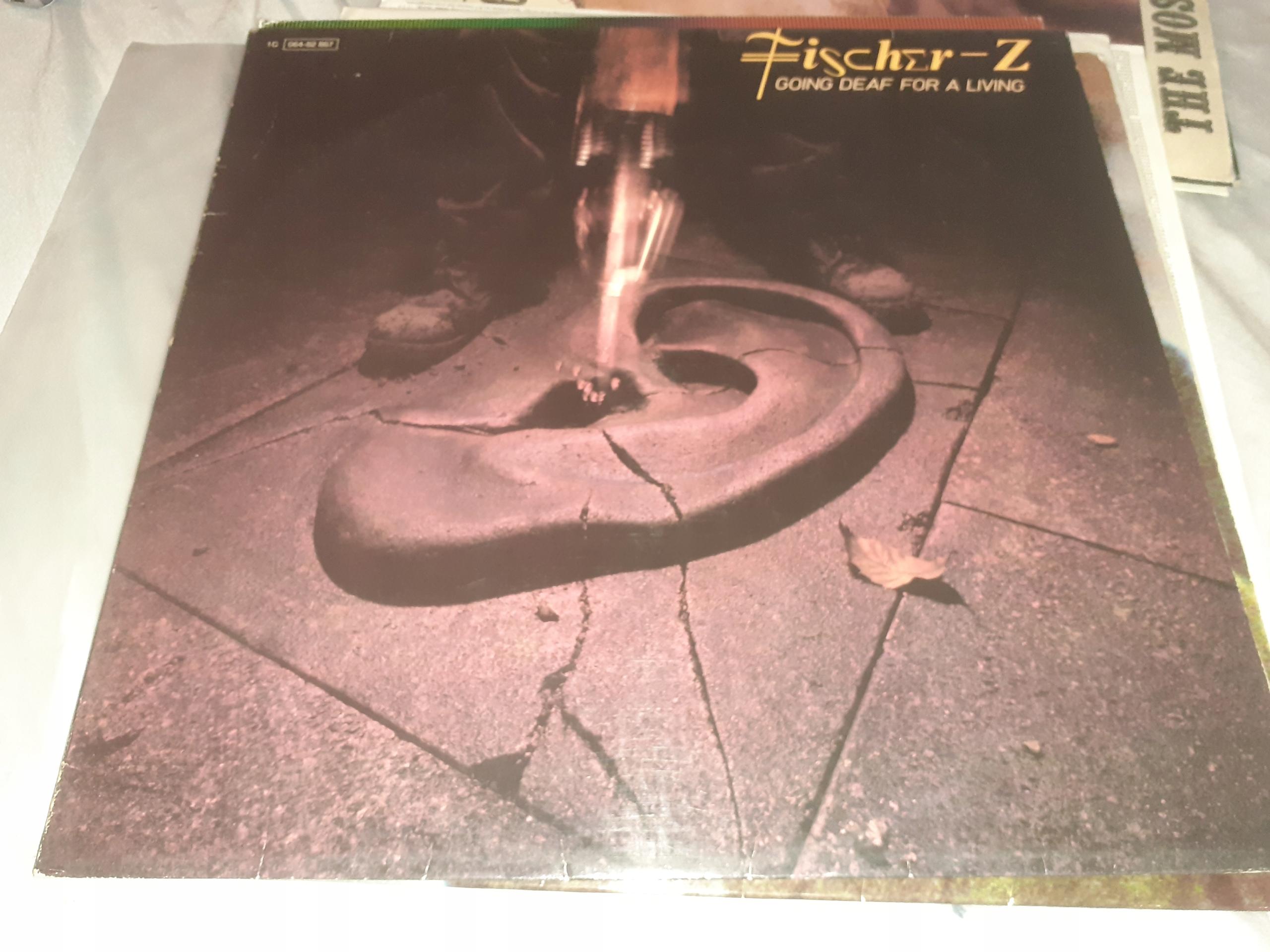 Fischer-Z Going deaf for a living - lp.