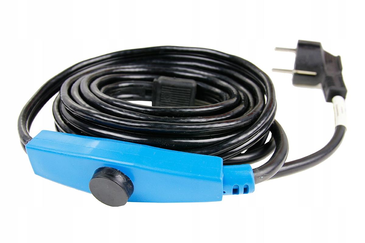 Przewód grzejny kabel grzewczy z termostatem - 14m