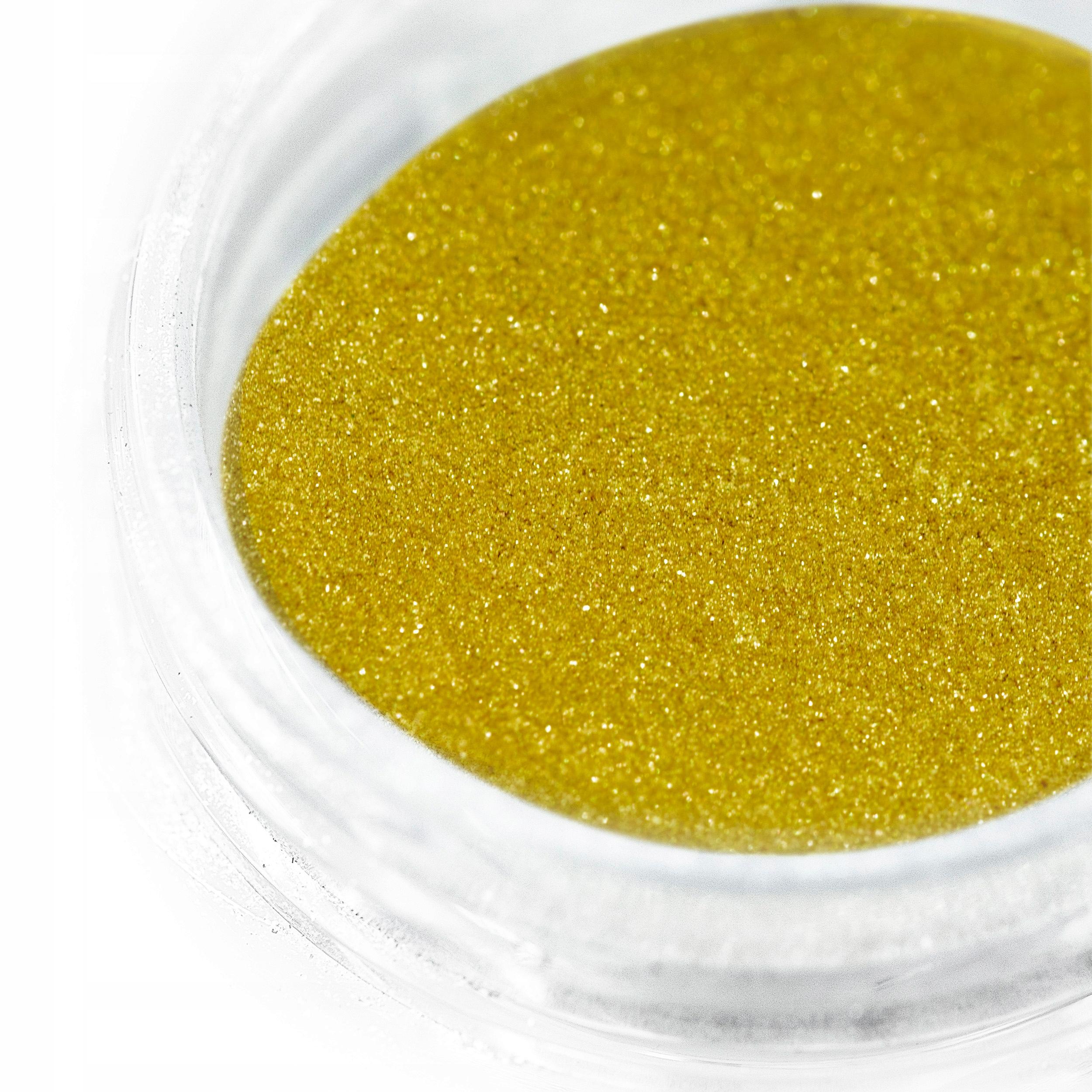 EFEKT LUSTRA metalu Pyłek Chrome Mirror ZŁOTY