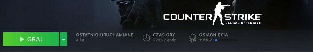 Konto Counter-Strike CS:GO PRIME | +2700 GODZIN