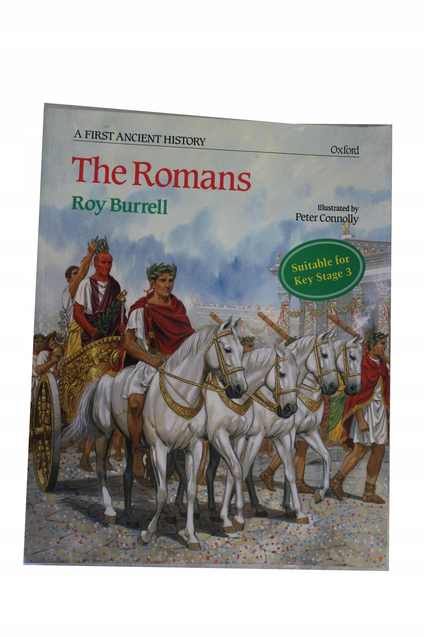 R.E.C. Burrell A First Ancient History: The Romans
