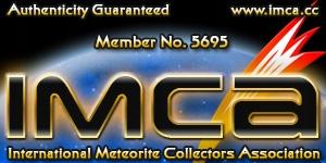 Wisiorek z meteorytem Seymchan METEORYT 2,35 g