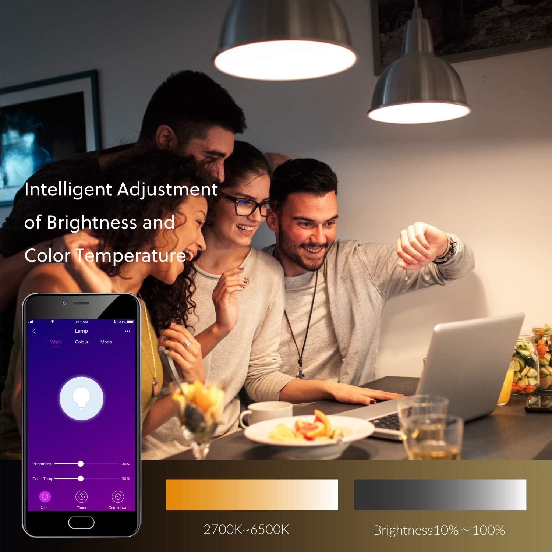 HOMESURE ZESTAW 2X ŻARÓWKA SMART LED WiFi E27 10W