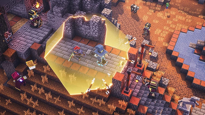GRA PS4 MINECRAFT DUNGEONS Edycja HERO Bohatera PL