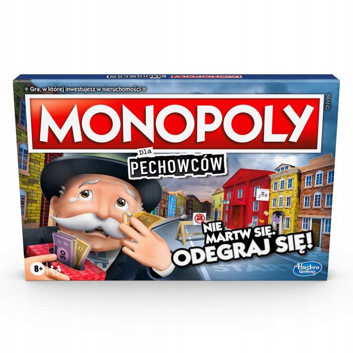 HASBRO GRA MONOPOLY DLA PECHOWCÓW POLSKA E9972