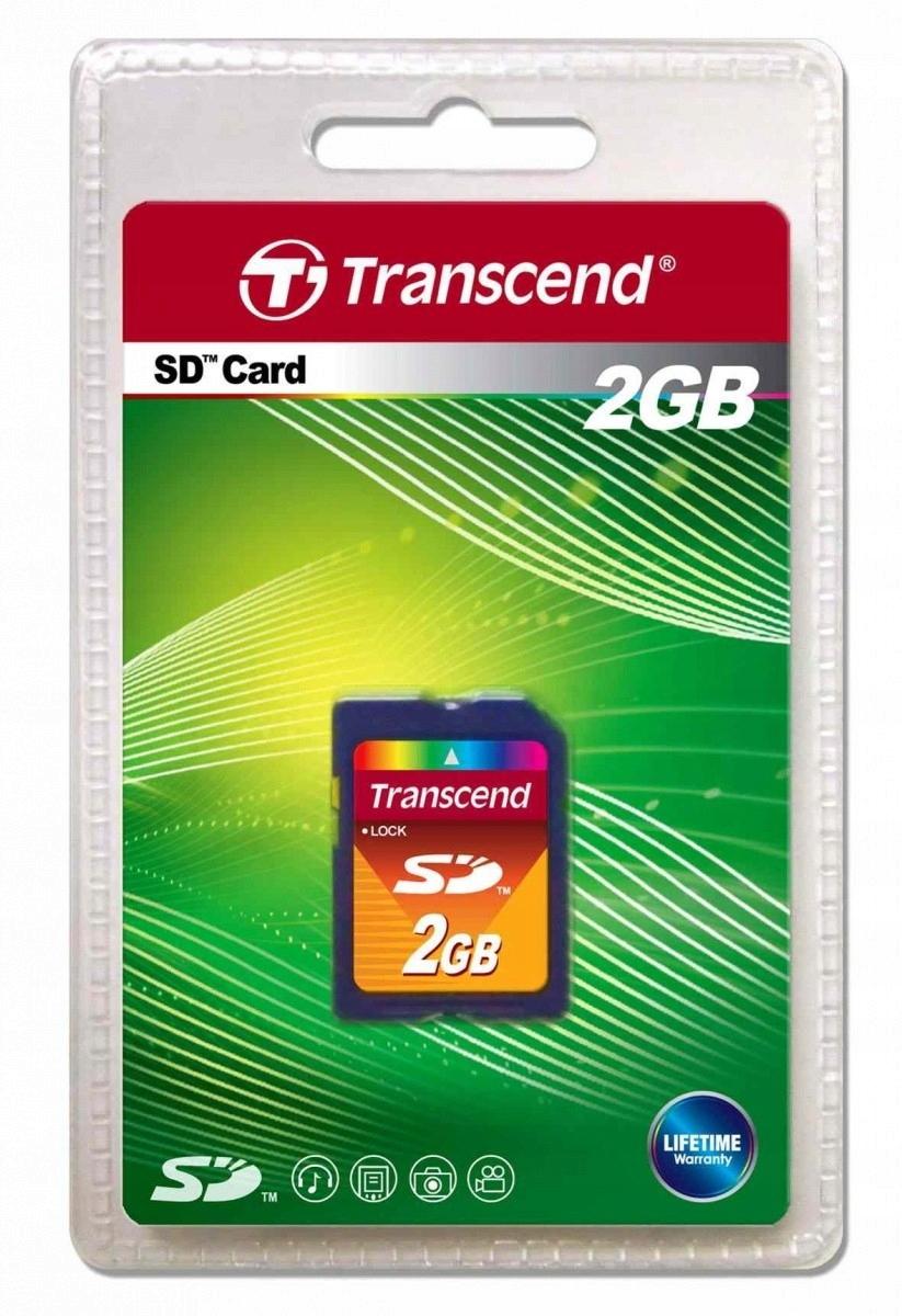 Karta pamięci SD Secure Digital 2GB 20/13 MB/s