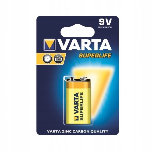 VARTA Bateria cynkowa 9V Superlife 10szt.