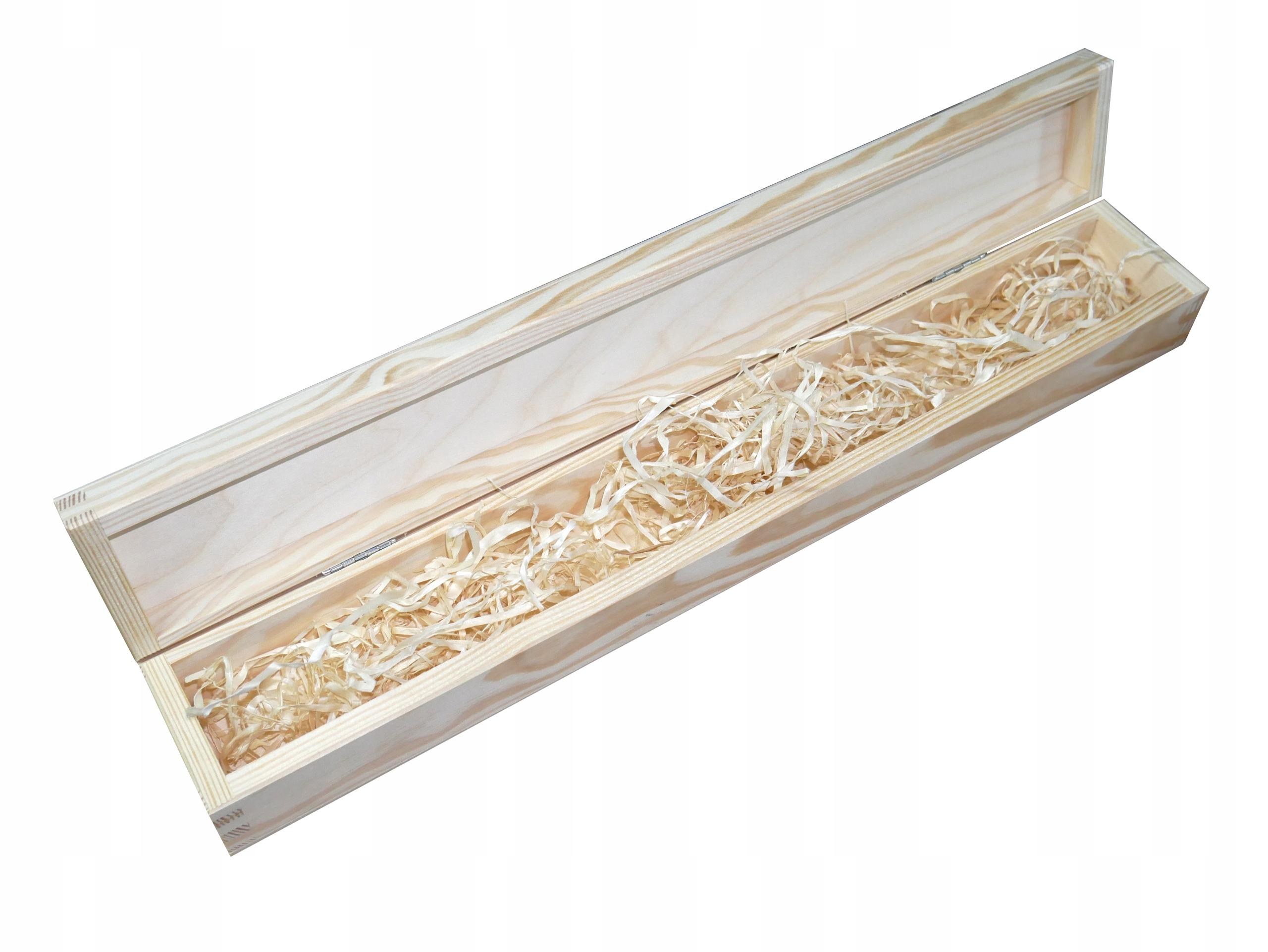 Pudełko na świecę gromnicę chrzest grawer drewno