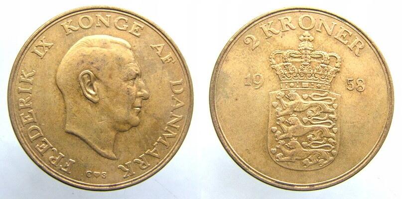 9199. DANIA, 2 KORONY, 1958