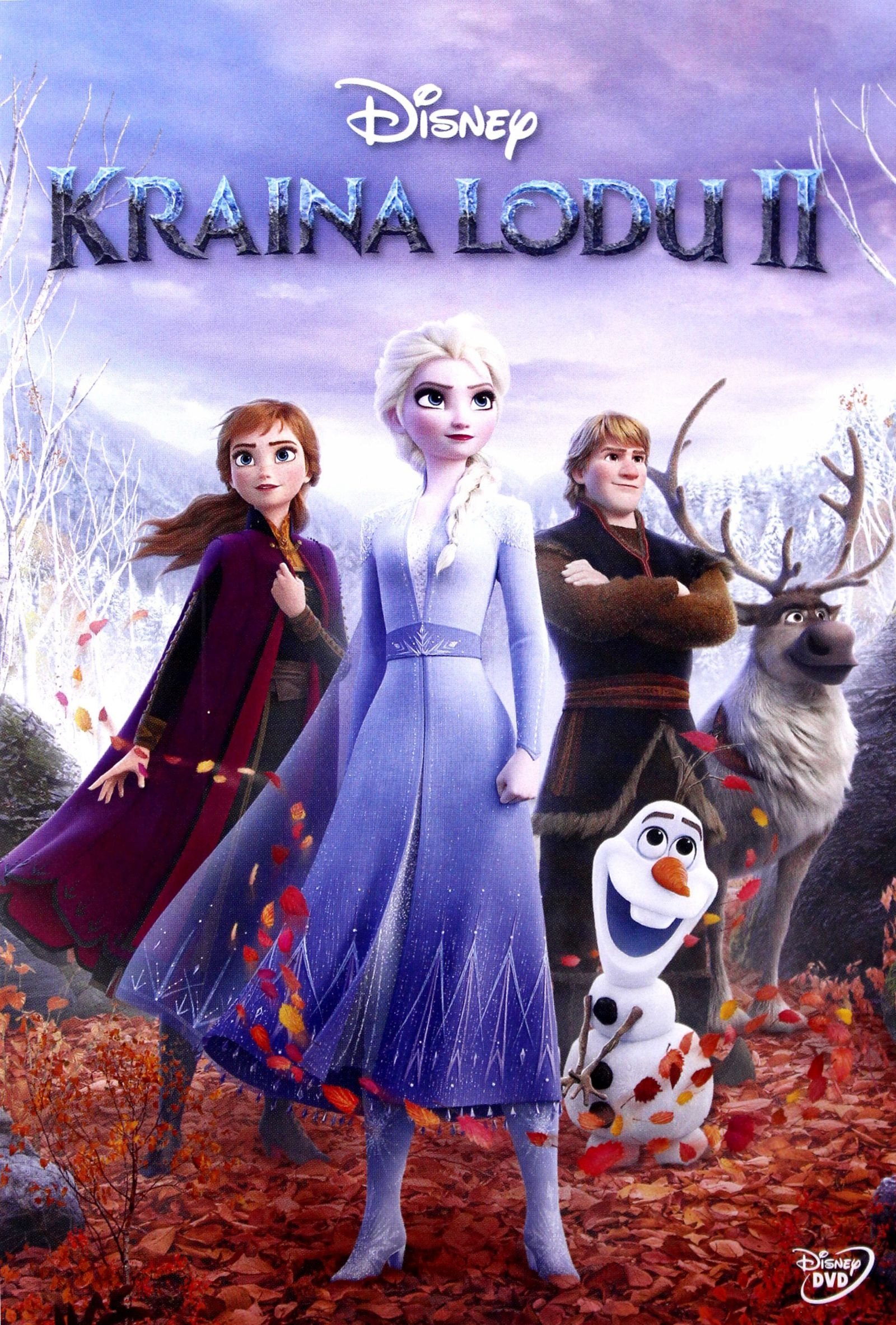 KRAINA LODU 2 (DISNEY) (DVD)