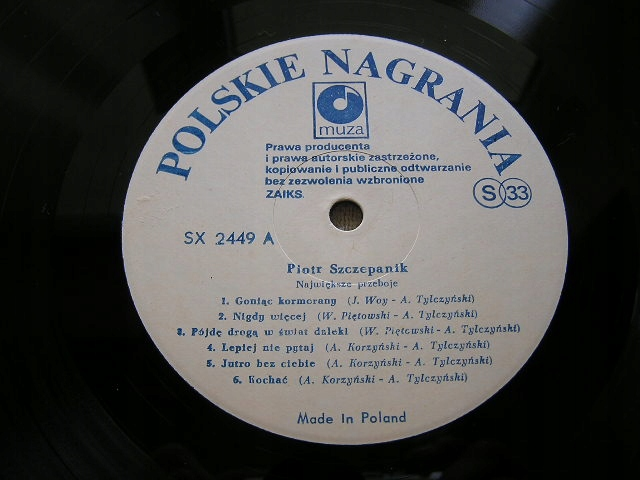 Piotr Szczepanik - Największe [1 PRESS].MINT-