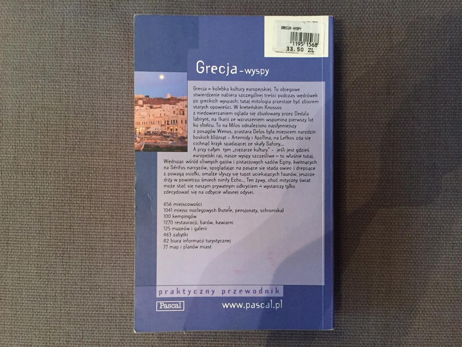 Grecja wyspy / praktyczny przewodnik / Pascal