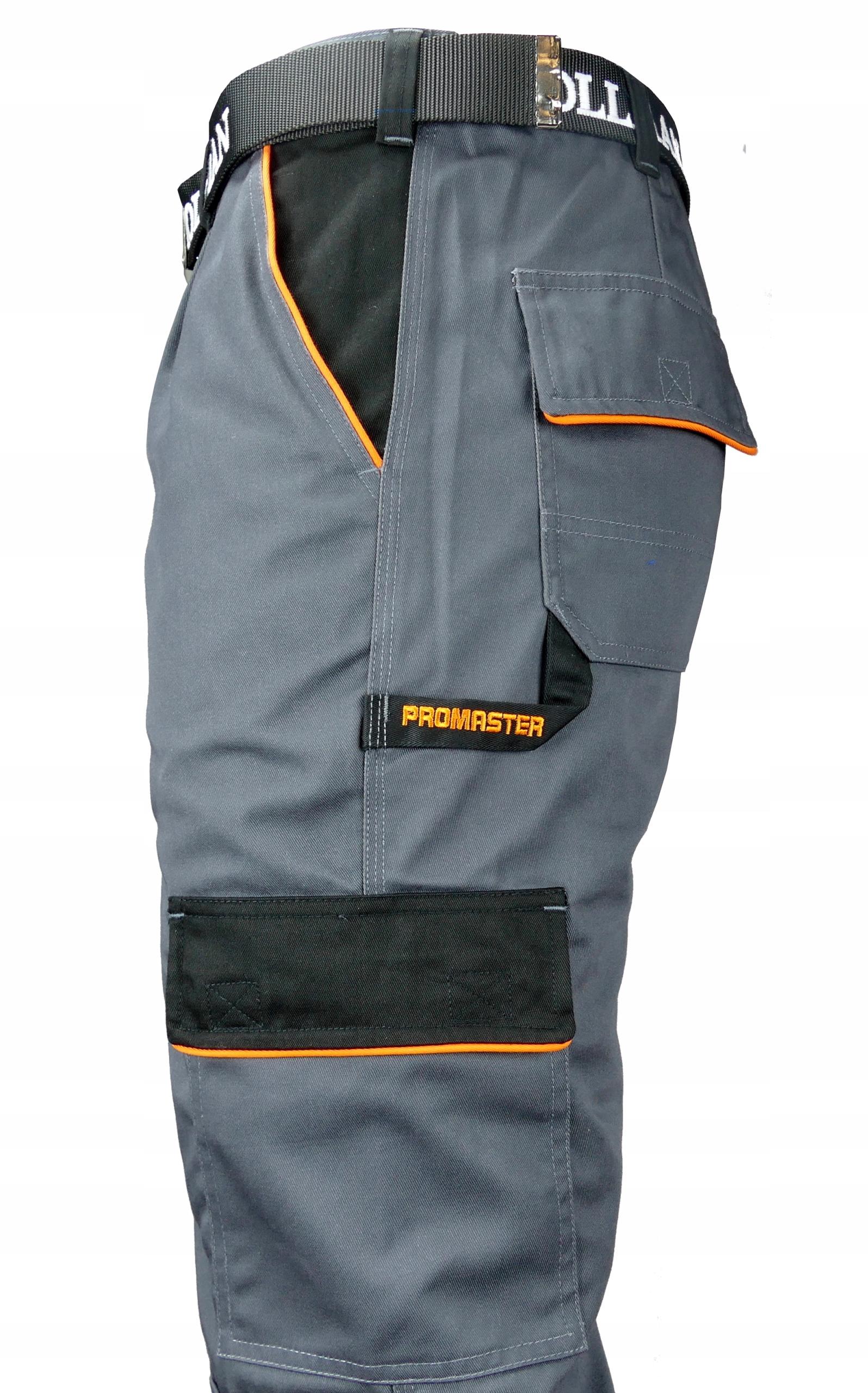 Spodnie Robocze Ochronne Pro Master PRO-T r. 52