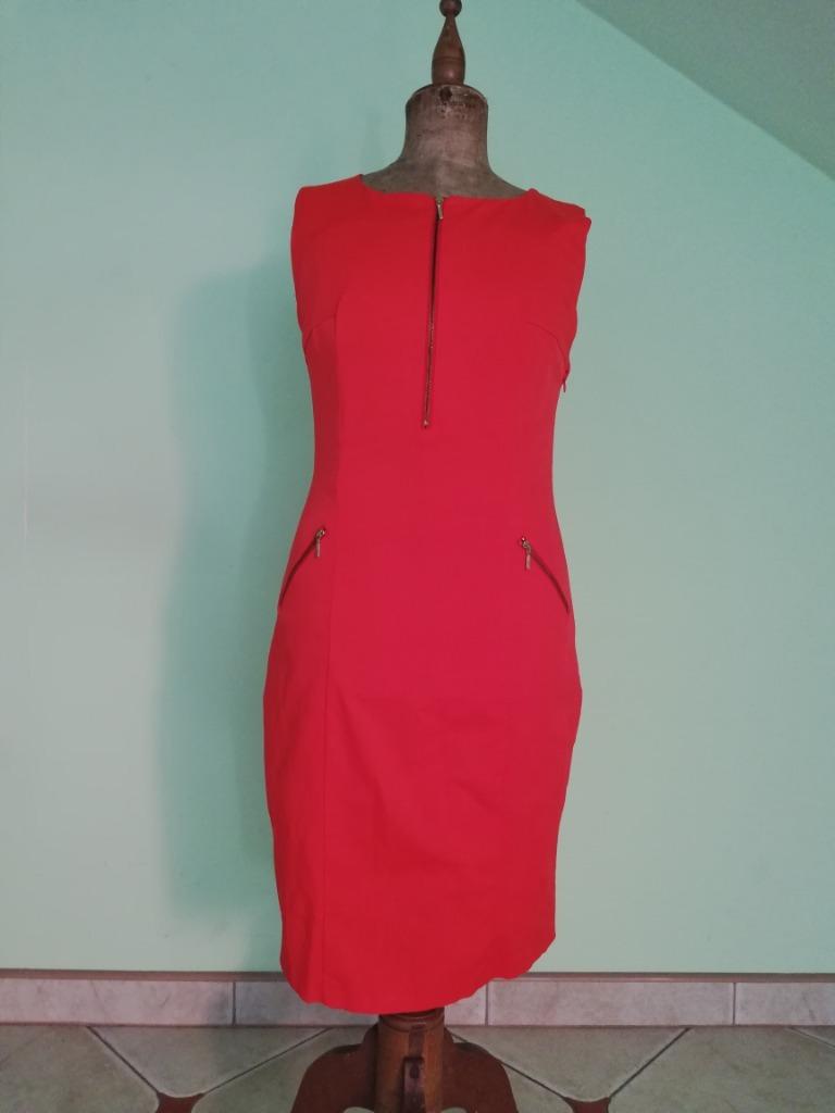 MOHITO, sukienka czerwona, rozm. 42, L/XL, nowa