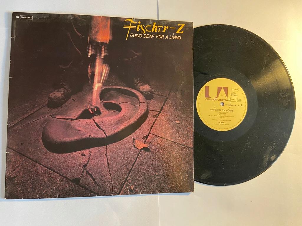 Fischer-Z Going Deaf For A Living (LP)