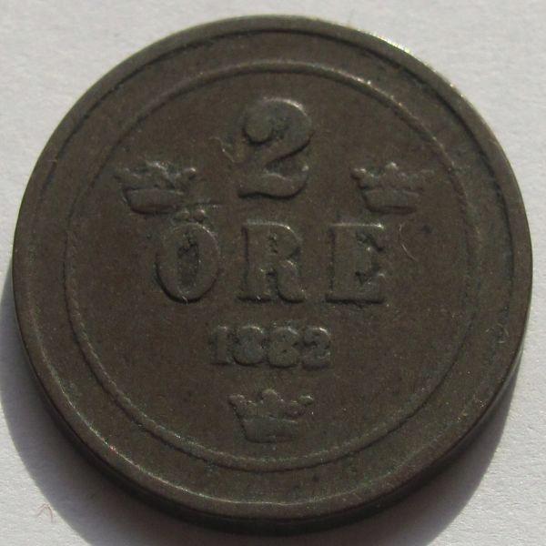 Szwecja 2 ore 1882