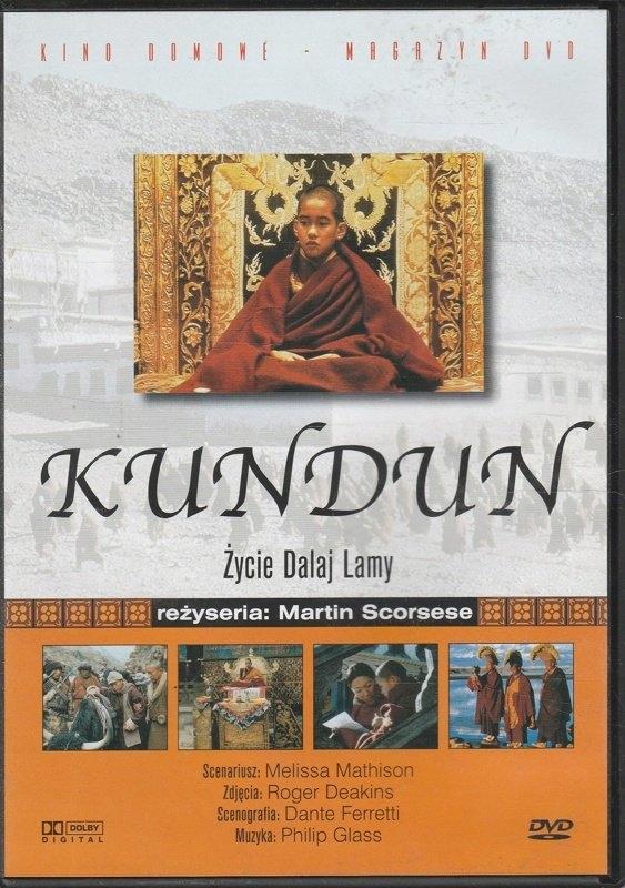 Kundun Życie Dalaj Lamy DVD